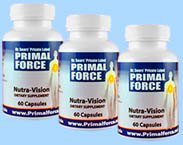 nutravision package of three bottles