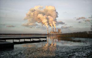pollution chimney stacks