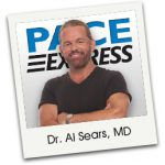 Dr. Sears and words Pace Express
