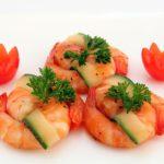 shrimp and cucumber